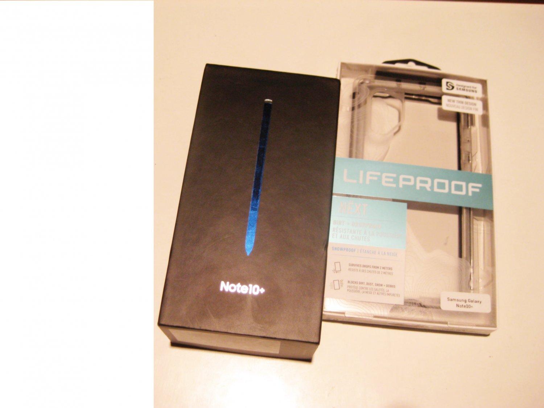 9.2/10  Unlocked  256gb Samsung  Note 10+ N975U1 Deal! Wrrnty 01/21