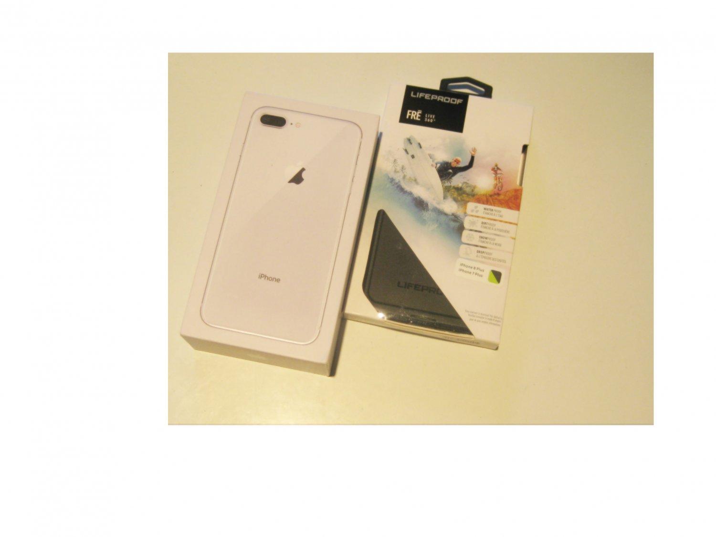 Near Perfect Silver  SPRINT  64gb  Iphone 8+  A1864  Deal!!