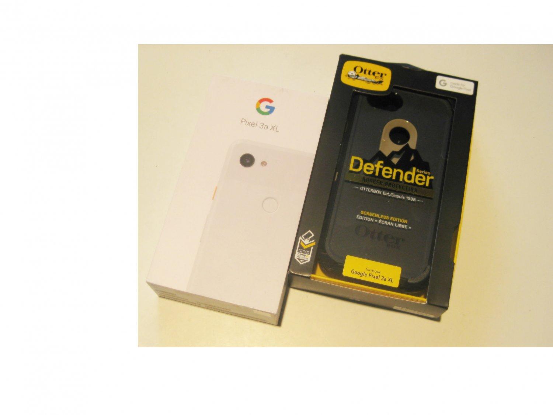 New    White  Sprint Google  Pixel 3a XL  64GB Bundle!!