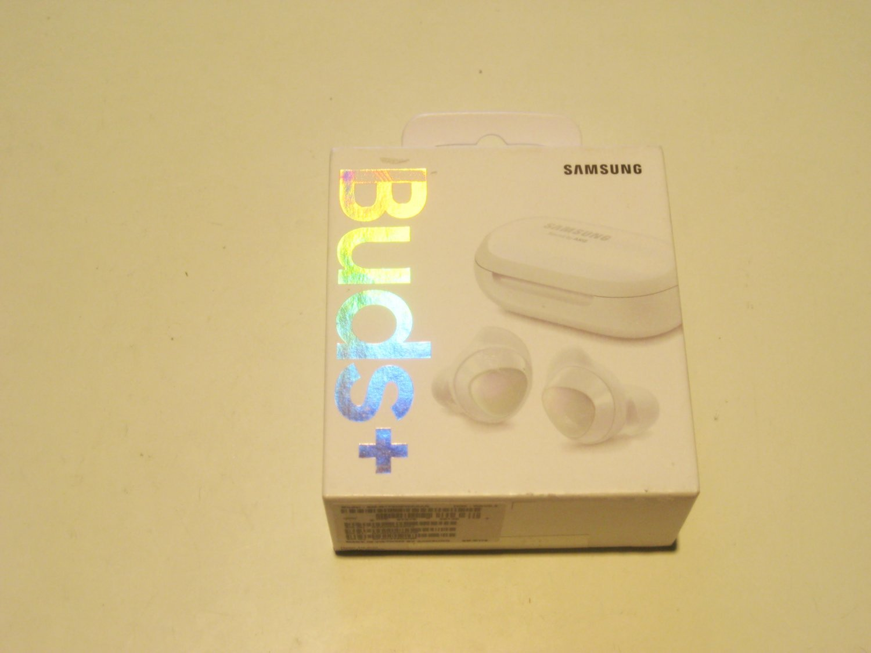 New White  Samsung  Buds+ Plus