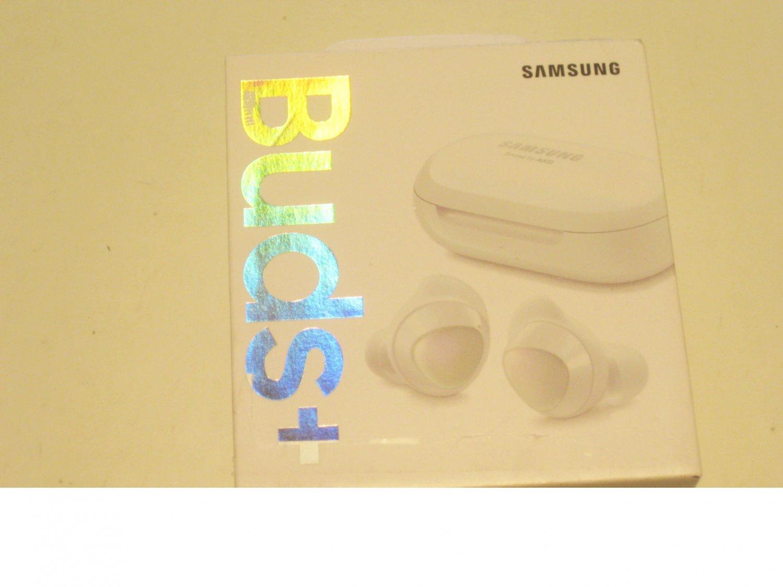New Unused  White  Samsung  Buds+ Plus