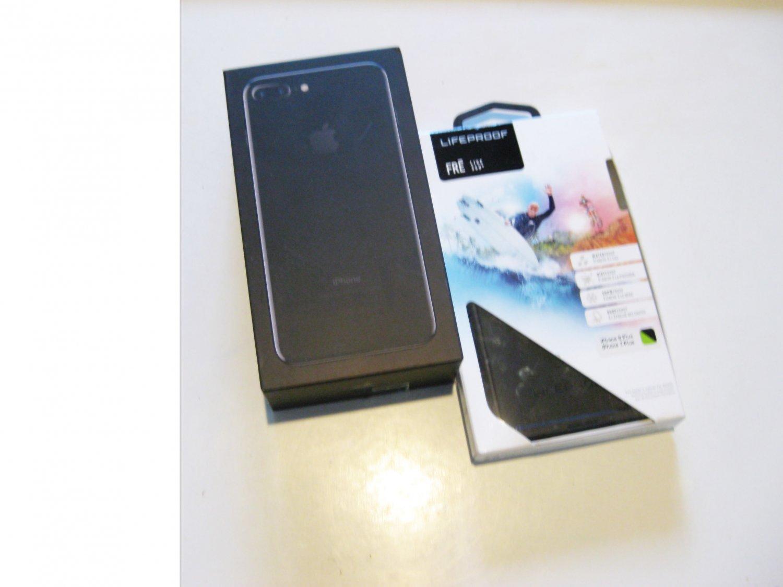 """MINT"" Jet Black 128gb Sprint/T-mobile Iphone 7+  A1661 Deal!!!"