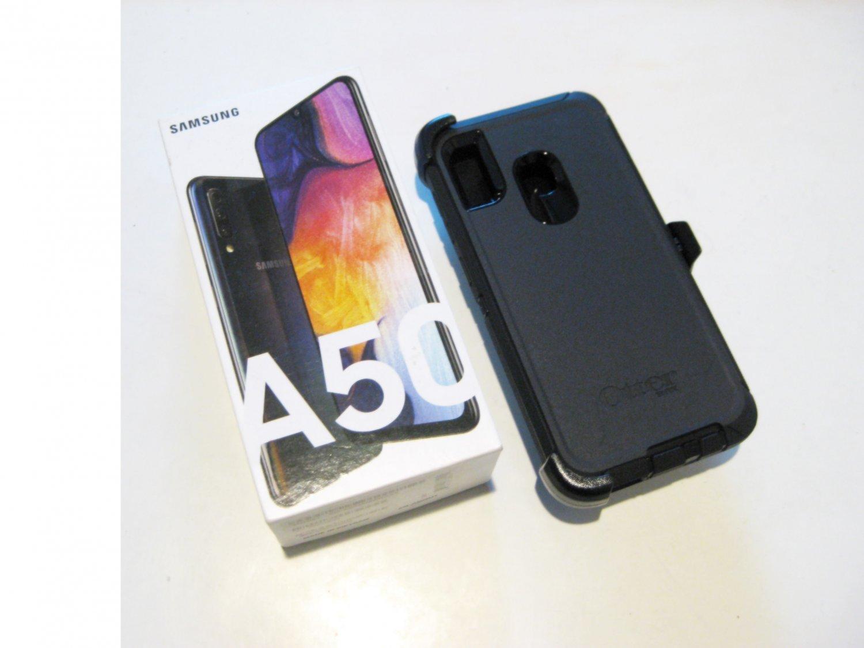 New Cond   64gb Fact.  Unlocked  Samsung A50  Deal! Warrnty 07/21