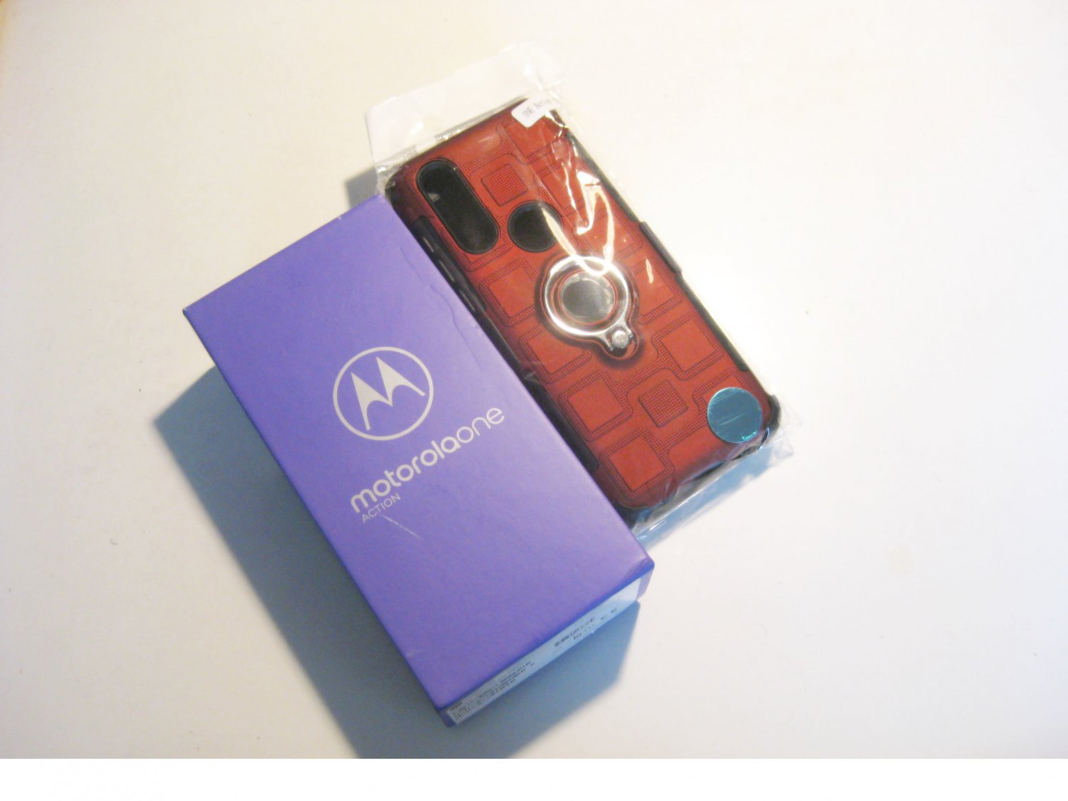New  Fact. Unlocked 128gb Total Motorola One Action   Deal!!