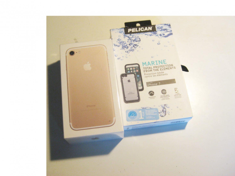 Brand New  Gold 256gb Verizon   Iphone 7 A1660 Deal! Warranty!