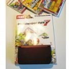 Red Nintendo New 3ds XL w  Mario Kart  & More!