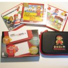 Red Nintendo New 3ds XL w  Mario 3d Land  & More!