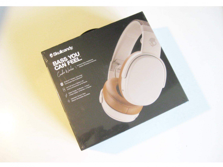 New Skullcandy  Crusher S6CRWK590 White Bluetooth Headphones