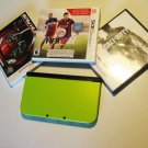 Lime  Nintendo New 3ds xl   FIFA 15 & More!!!