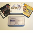 Nintendo New 3ds xl  SNES Limited Edition w Final Fantasy Deal!!