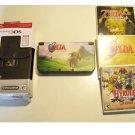 Excellent Red Nintendo New 3ds XL Zelda  Bundle!