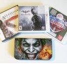 Nintendo New 3DS XL Back  Batman, Madden   Bundle!!!