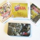 Very Good Black  Nintendo New 3ds XL Zelda  Bundle!