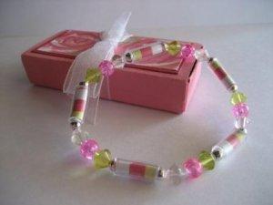 Scent of Springtime Paper Bracelet