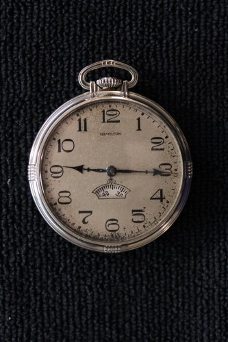 Hamilton Grade 912 �Digital Model� 12 size, 1939 Pocket Watch (Pocket Watches)