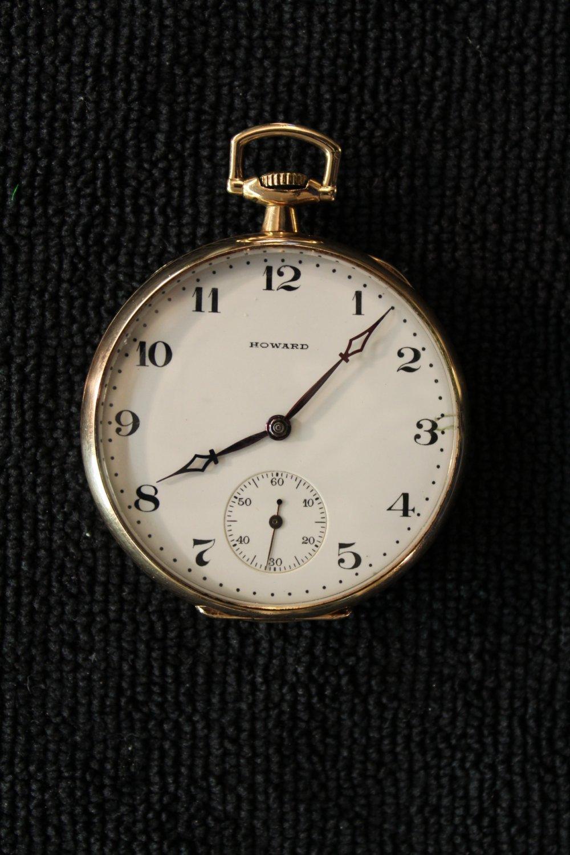 Omega Watch Price >> Howard 17 jewel, 12 size, 1908 Series 7 1915 Pocket Watch ...