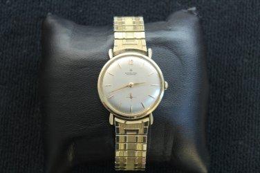 Hamilton �Masterpiece� 22 jewel, circa 1950 gold filled men�s watch (Wrist Watches)