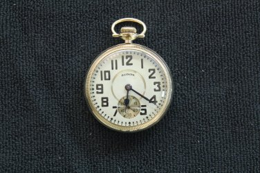 Illinois Watch Co. 21 jewel, 16 size, 1916 �Santa Fe Special� Pocket Watch (Pocket Watches)