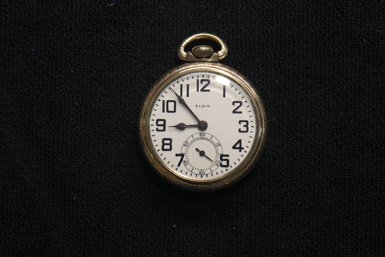 """Elgin National Watch Co. 21 jewel, 16 size, 1926 """"B.W. Raymond"""" Pocket Watch (Pocket Watches)"""