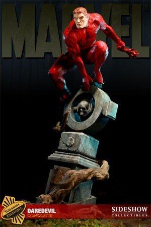 Daredevil Polystone Statue Sideshow Exclusive