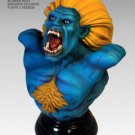 Street Fighter Blue Blanka Polystone Bust Sideshow Exclusive