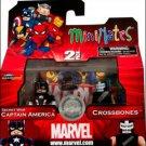 Captain America & Crossbones Secret Wars Series 42 Exclusive Mini Mate 2 Pack Action Figure
