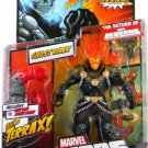 Ghost Rider Orange/ Red Head Variant Marvel Legends (Terrax Build-A-Figure) Action Figure