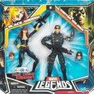 Black Widow & Winter Soldier (Black Costume Variant) Marvel Legends Action Figure