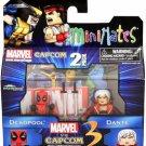 Deadpool Vs. Dante Marvel Vs Capcom 3 Minimates Action Figure