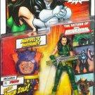 Madame Hydra Green Suit Marvel Legends (Arnim Zola Build-A-Figure Piece) Action Figure