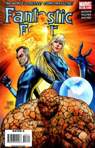 Fantastic Four #553 Mark Millar