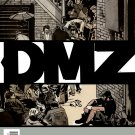 DMZ #59 Brian Wood (Back Cover Creases & Bends)