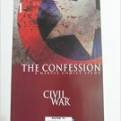 The Confession Civil War #1 Brian Michael Bendis