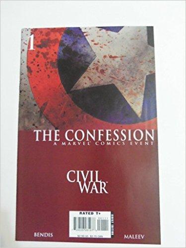 The Confession Civil War #1 Brian Michael Bendis