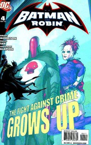 Batman and Robin #4 Grant Morrison