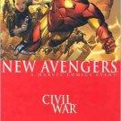 The New Avengers #25 Civil War Brian Michael Bendis