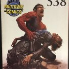 The Amazing Spider-man #5838 Midtown Comics NYC Civil War NYCC 2007 (Cover Damage)