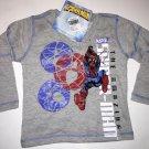 Long Sleeve Shirt Boys The Amazing Spider-man Size 4