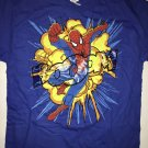 T-Shirt Boys Spider-man Size M/M