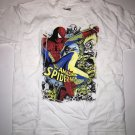 T-Shirt Small Boys Spider-man Size Large