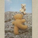 MOUNTAINBEARING BEARS POSTCARD FROM THE BEARS ON HOLIDAY SET 1981