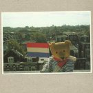 THE TEDDIES POSTCARD COLLECTION BEER TEDDY MIRJA DE VRIES AMSTERDAM