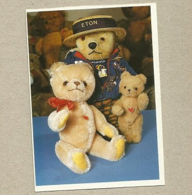 MIDGE THE BEAR AND BEARS FROM TIERE MIT HERZ AUSTRIA POSTCARD