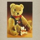 LITTLE AND LARGE VINTAGE POSTCARD SHOWING GERMAN GEBR BEARS