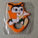 BABY BUG WITH ORANGE FLAG FRIDGE MAGNET BOTTLE OPENER
