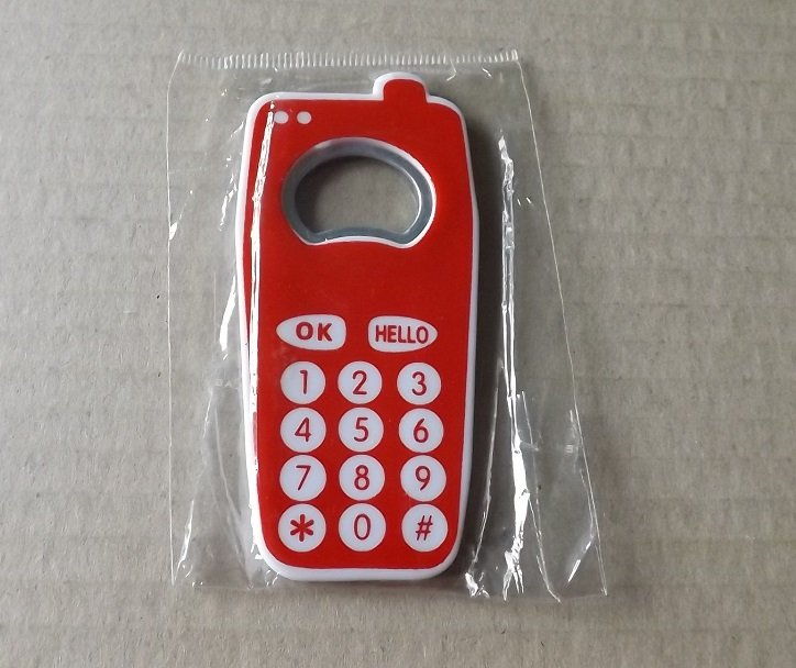 MOBILE PHONE FRIDGE MAGNET BOTTLE OPENER