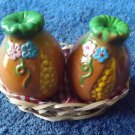 SWEET CORN SALT AND PEPPER SHAKERS CRUET SET