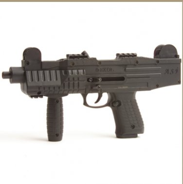 Asi Fully Automatic Blank Firing Pistol Black Finish