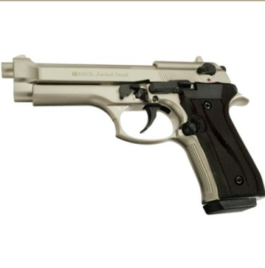 Jackal Full Automatic Blank Firing Gun Satin Finish
