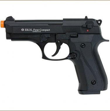 Firat Compact 92 Front Firing Blank Gun Matte Black Finish